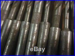 100 Morse Taper 1 MT MT1 Twist Drill Tool Set Machinist Lathe Mill CNC Many NOS
