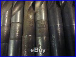 132 Morse Taper MT1 1 MT Drill Tool Set Lot Machinist Lathe Mill CNC Many NOS