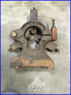 14 Or 15  Metal Lathe Steady Rest For Some Antique Iron Machinist Tool Find