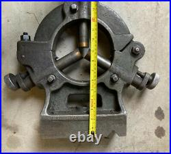 18 Metal Lathe Steady Rest 9 bed to center Brass tipped fingers Machinist Tool