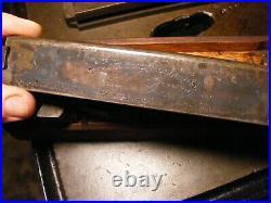 1901 Antique OK Tool Holder & Cutter Bit Set Wooden Tray Vintage Lathe Machinist