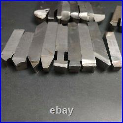 20pc Tool Bit 1/2 5/8 3/4 Cleveland MoMax Cobalt Atlas + Blank Machinist Lathe