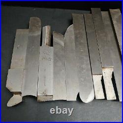 24pc Tool Bit 7/8 1 & 1-1/4 Cleveland MoMax Cobalt + Blank Machinist Lathe
