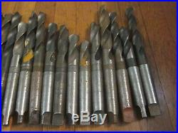 25 Morse Taper 3 MT Drill Bit Tool Lot Metal Lathe Southbend Machinist Many NOS