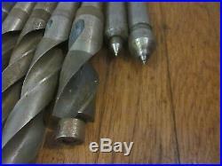 25 Morse Taper MT3 3 MT Twist Drill Bit Tool Lot Machinist Lathe Mill Many NOS