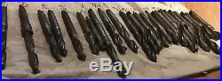 25 Morse Taper Twist Drill Bit Tool Lot Machinist Lathe Mill CNC Vintage