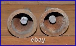 2 Simplex No 4412-1 screw jack machinists mill lathe tool makers leveling set