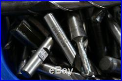 300+pc Machinist Mixed Lot 5/16 1/2 End Mill CNC Mill Lathe Tooling & Bits