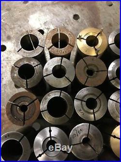 30pc 5C Collet Set Machinist Tool Box Find Metal Lathe Milling Machine Grind C5
