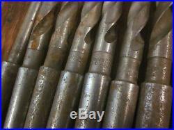 37 Morse Taper 2 MT MT2 Drill Bit Tool Set Lot Machinist Lathe Mill CNC Many NOS