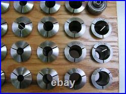 39 PIECE MACHINIST LATHE TOOLS 5 C 5C Collets and others