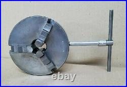 #426 Rockwell 46-950 3 Jaw Chuck Vintage Machinist Wood Worker Lathe Tool