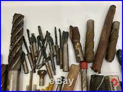 42.8LB END MILL Lathe Cutting Twist Drill Bit MACHINIST Carbide Cobalt TOOL LOT