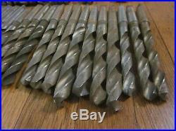 43 Morse Taper MT2 2 MT Twist Drill Tool Lot Machinist Lathe Mill CNC Many NOS