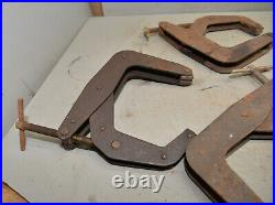 7 Kant Twist clamps four 6 two 4 one 3 machinist lathe positioning tool lot