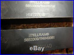 7 Stellram And Seco Cnc Metal Lathe Tool Holders 1x1 Shank Machinist Tool
