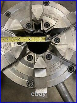 8 Buck Forkardt 6 Jaw Adjust-Tru 6AT8 D1-8 Metal Lathe Chuck Machinist Tool