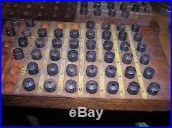 97 Vintage Collets Machinist Jewelers Lathe