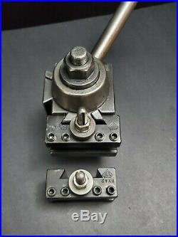ALORIS Wedge Tool Post & BXA 2 Quick Change Tool Holders Machinist Lathe 10-15