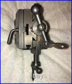 Adjustable Lathe Cross Slide Watchmaker Machinist Bench Repair Tool