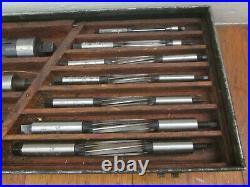 Adjustable Reamer Set 37pc 5/16-1 1/4 HSS USA MOST MORSE Machinist Lathe Tool