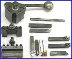Aloris AXA1 AXA2 Quick Change Tool Holders WithWedge Tool Post Lathe Machinist