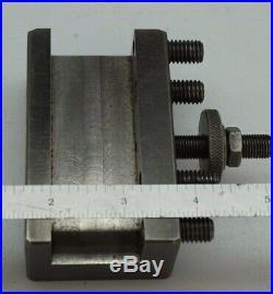 Aloris Cxa-1 & Cxa-2 Quick Change Tool Holders Machinist Metal Lathe