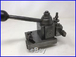 Aloris Tool Post Model BX Quick Change Tooling One Holder Lathe Machinist Metal