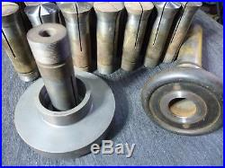 Ames Watchmakers Lathe 1am Collets Lot Of 41 Boley Levin Bc Ames Machinist