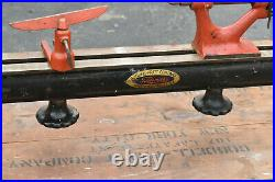 Antique Goodell Pratt Toolsmiths Lathe No. 494 Machinist with Original Crate