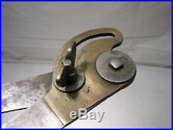 Antique Machinist Tool Metalworking Inside Calipers Lathe Brass Craftsman Made