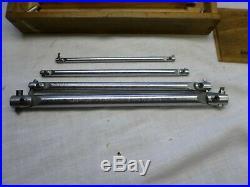 Antique Machinist Tools Lathe MILL Clark Precision Lever-lock Boring Bars