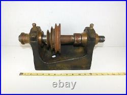 Antique Vtg 1800's FAY & SCOTT Lathe Metal Machine Machinist- Head Stock Brass