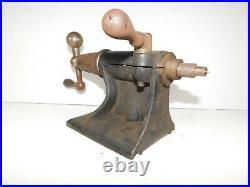 Antique Vtg 1800's Fay & Scott Lathe Metal Machine Machinist Tail Stock 2MT