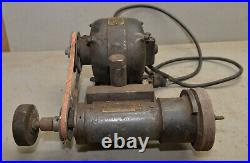 Antique lathe tool post grinder early GE motor collectible machinist tool