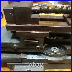 Atlas/Craftsman 3 Axis Compound Cross Slide Swivels With Machinists Vise Smooth