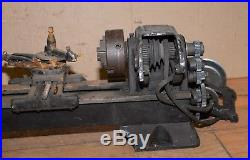 Atlas No 618 bench lathe 6 metal working bench tool vintage machinist