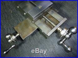 Bc Ames Watchmakers Lathe Compound Slide Rest Hardinge Cataract Machinist Tools