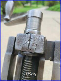 Brown & Sharp Precision milling SINE VISE tilting lathe machinist 4 jaws
