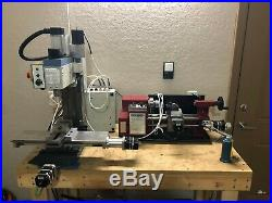 CNC mill lathe & tooling LMS X2 HF 7x10 milling machine machinist Grizzly