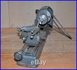 Craftsman vintage metal lathe No 109.21270 machinist tool gear turning bench top