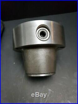 Cushman 215 Collet Chuck & Hardinge 3/4 1-1/2 Collets Machinist Tool Lathe