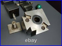 DTM Precision CXA Wedge Tool Post & Quick Change Tool Holder Machinist Lathe 90