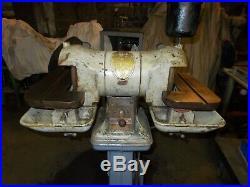 Delta carbide tool grinder, vintage delta lathe tool grinder, machinist tooling