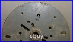 Delta wood bowl turning lathe face plate 1 x 8 TPI 13 diameter machinist tool