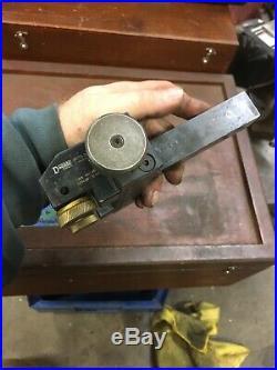 Dorian USA KTW109-100-2-4 Adjustable Knurling Tool Metal Lathe Machinist 1 Shan