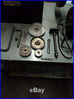 DuMore 57-021 Tool Post Lathe Grinder 1/2 HP Machinist with Box & Accessories K80