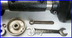 Dumore 5-021 Tool Post Lathe Grinder 1/2 HP Machinist with Box & Accessories