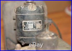 Emesco dental grinder lathe buffer jeweler watch maker cast iron base machinist