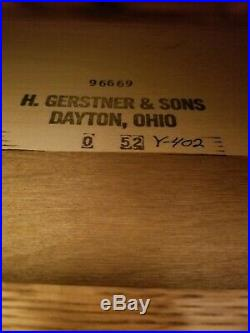 Gerstner GO52 Tool Chest Box Machinist Lathe Mill